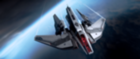 Hawk_flying_over_blue_world_-_Front_Abov