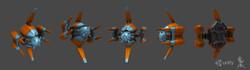 Humanoid drone T06
