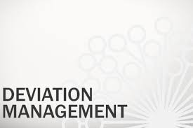 Deviation Management, and Tracking Software Solution