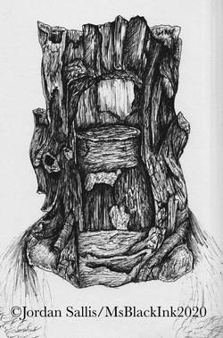 Tree Trunk Sculpture Foundation - The Secret Garden