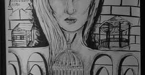 Architectural Ink Self Portrait