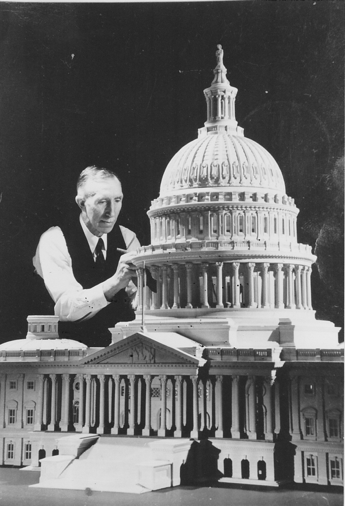 United States Capitol Model