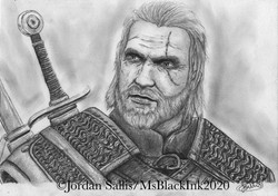 Geralt of Rivia - The Witcher