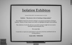 Isolation Exhibition