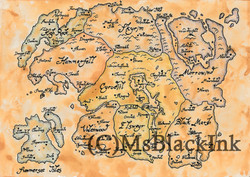 Elder Scrolls Map Of Tamriel