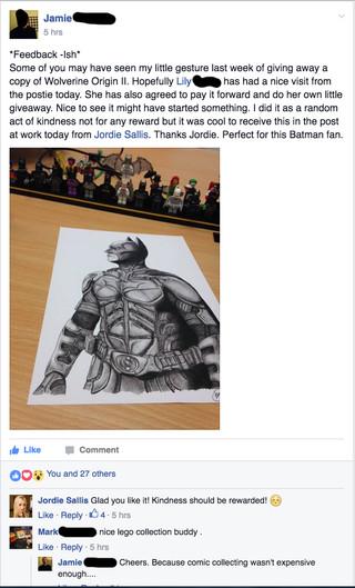 Batman Print Giveaway