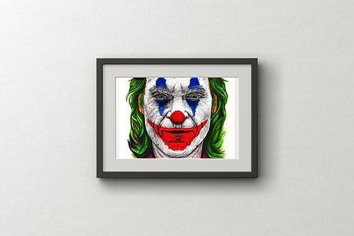 Joker - Joaquin Phoenix - Original Artwork