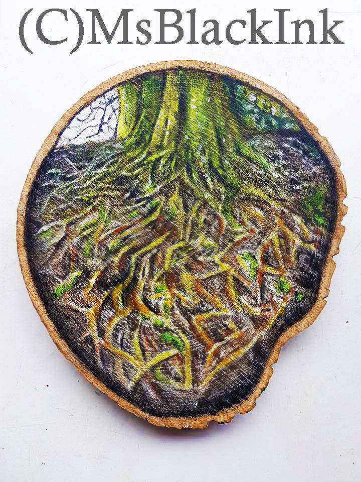 Tolkien Tree Roots