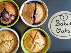 Baked Oats, la super recette pour le petit déjeuner