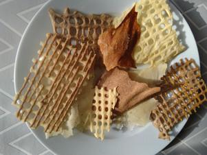 Crackers de levain