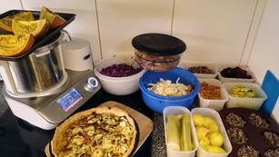 Batch cooking de deux heures pour 6-7 repas