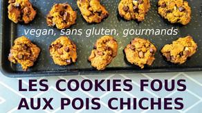 J'a testé les cookies aux pois chiches et waaahhh, c'est trop bon! (sans gluten et vegan en bonus)