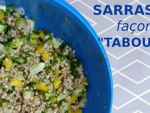 Salade de sarrasin, façon taboulé!