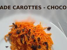 !!! Avez-vous déjà mis du chocolat dans vos carottes râpées? Moi oui, et c'est étonnant !!!
