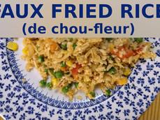 Faux Fried Rice au chou-fleur
