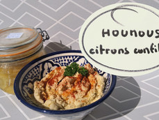 "Mon ""houmous"", option citrons confits"