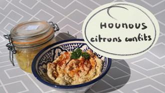 """Mon """"houmous"""", option citrons confits"""
