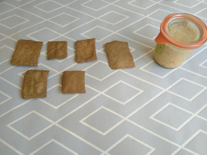 Crackers de sarrasin (sans gluten), ou au seigle (avec gluten)