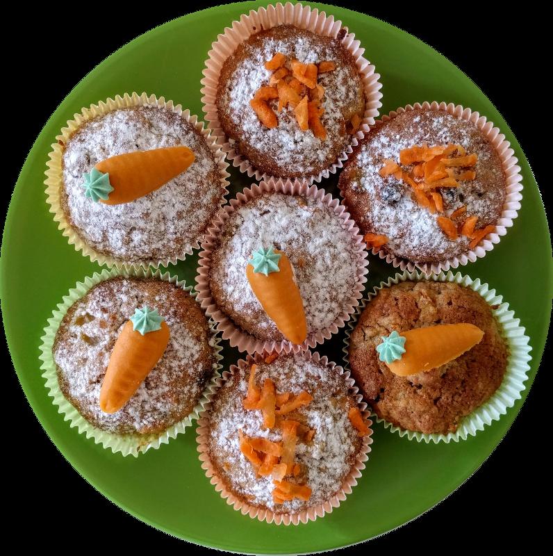 assiette muffins