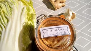 Le kimchi qui nous plait ici
