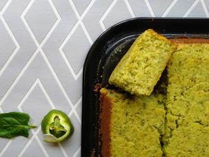 Grüner Limetten-Kuchen / Gâteau citron vert - épinard!