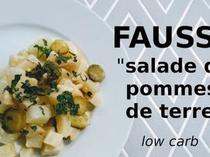 Voila une salade plus légère pour l'été (fausse salade de pommes de terre)
