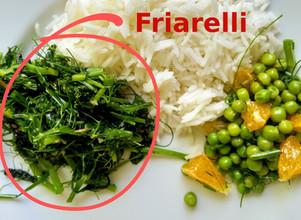 Friarelli / Poêlée épicée de fanes