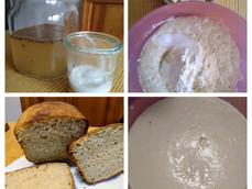 Eau de levure pour faire du pain