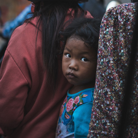 The cruel reality of the life of a Cambodian girl in rural Cambodia
