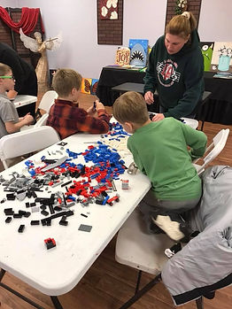 The Enrichment Center of the Illinois Valley, lego club, michelle black