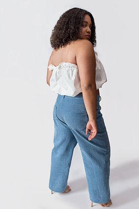 Milan Straight Leg Mom Jeans