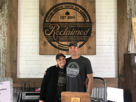 Centralia business owners Callie and Brad Page hope the historic St. John African Methodist Episcopal Church will serve as a gathering place for the community.