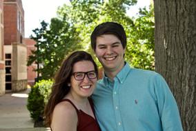 Zoe Clarkson, 21, and Lukas Heading, 22.