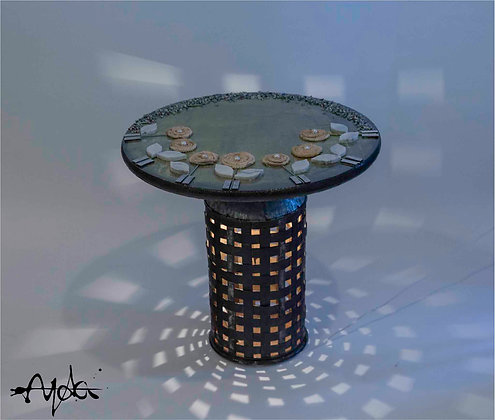 Round Table with Lighting