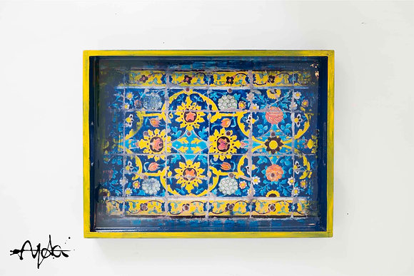 Boho Home Decor Persian Wedding Decor Kitchen Decor Serving Tray C