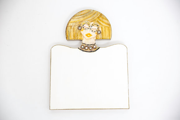 Blond Woman Cutting Board/Cheese Board