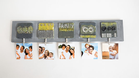 Family- Hanger - Wall Decor -Entry Way