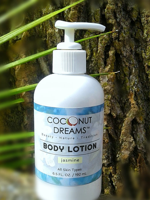 Jasmine (Coconut milk & Aloe) Body Lotion