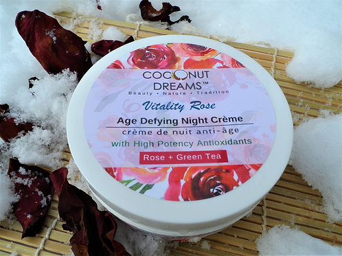 VITALITY ROSE Age-Defying Night Creme - 4Oz )