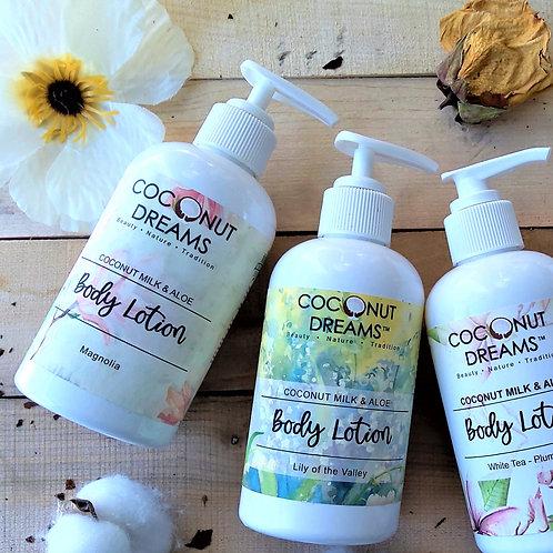 Magnolia (Coconut Milk Floral Body Lotion) 8 oz