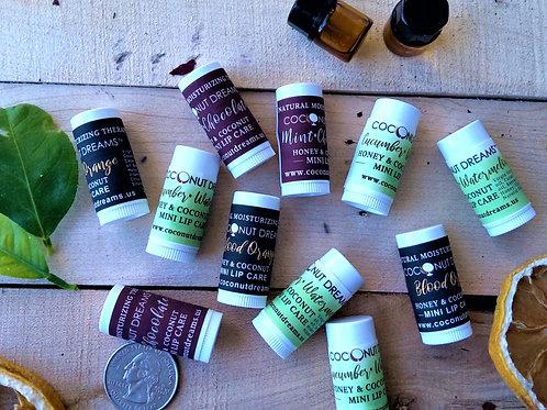 Honey-Coconut Mini Lip Balm -Set of 3