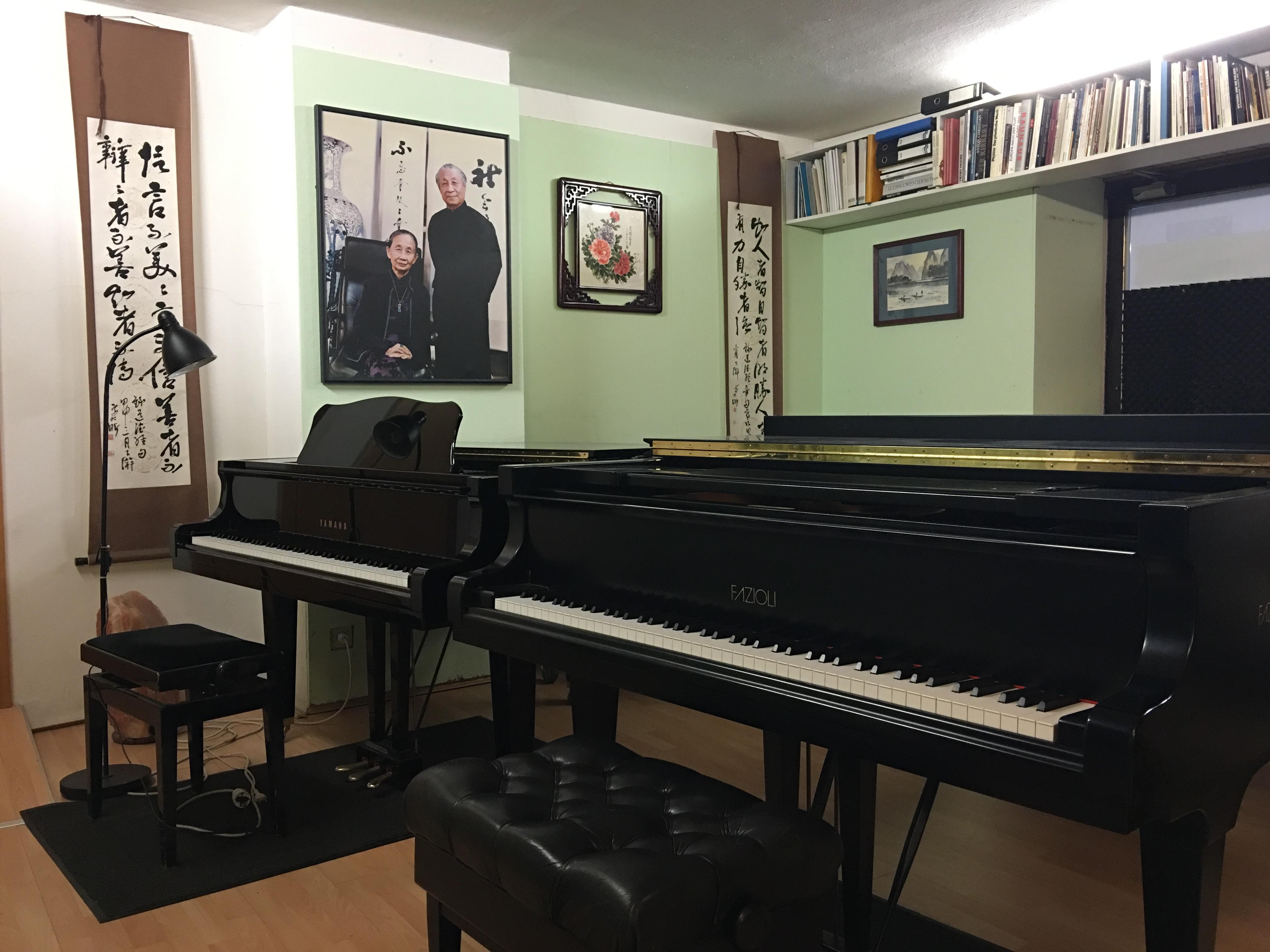 雙鋼琴式授課