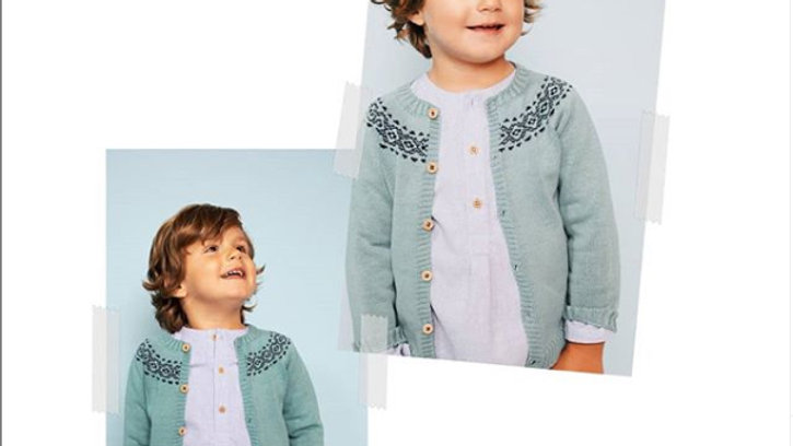 Fina Ejerique  knitted heritage cardigan