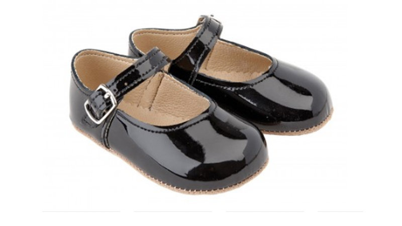 Early Days Mary Jane Leather Pre-Walker Shoes