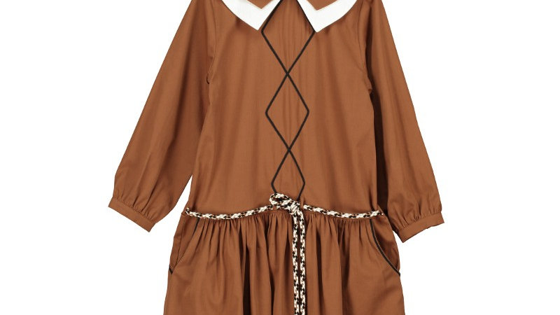 Belle Chiara Girl double side wearing dress
