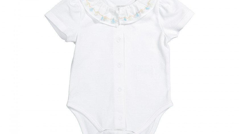 Knot baby short sleeve body