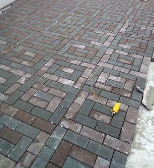 Укладка тротуарной плитки в Кашире