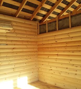 Внутренняя отделка дома под ключ - обшивка стен блок-хаусом