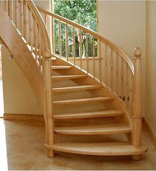 Элементы деревянной лестницы для частного дома в Озёрах, Ступино, Кашире, Зарайске