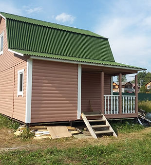 Монтаж пристройки к деревянному дому Ступино